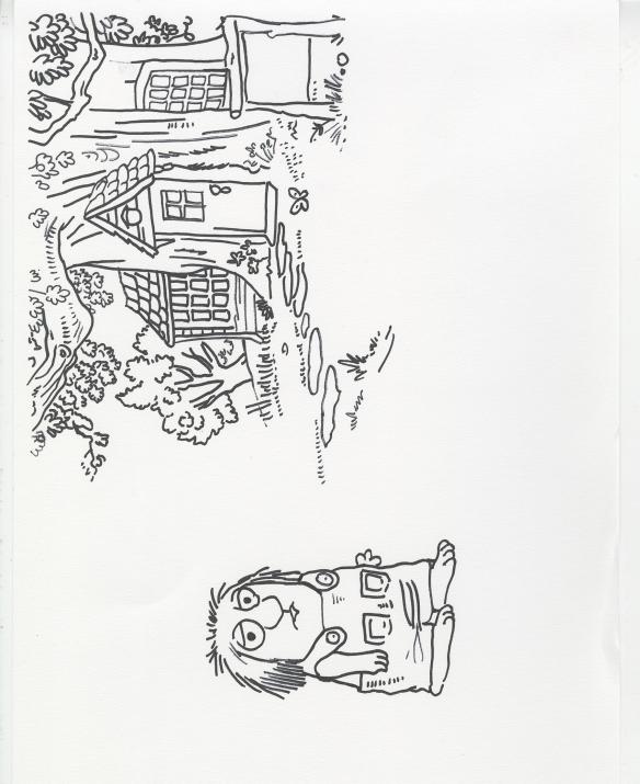 comic book sketch