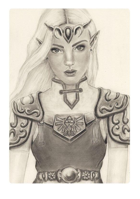 rachel-zagarella_graphite_princess-zelda
