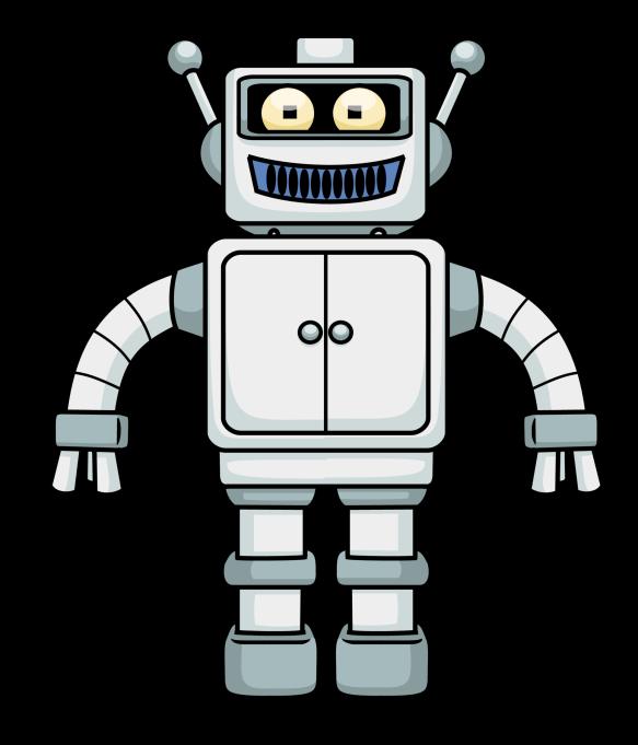 robot logo PNG