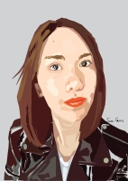 sue-vector-illustraion-potrait