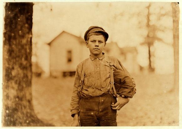 mill worker 1908